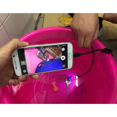 3 in 1 Waterproof USB Port Ear and Nose Endoscope 5.5mm Visual Lens Mini T6X6