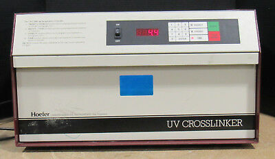 Tested Working Genuine HOEFER UVC-1000 UV Crosslinker With Power Cord