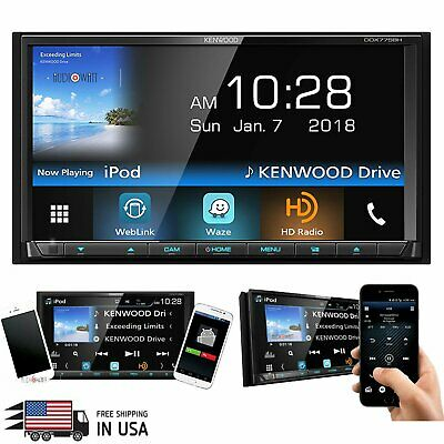 NEW KENWOOD EXCELON Ddx-593 Model Ddx593 Double Din Dvd