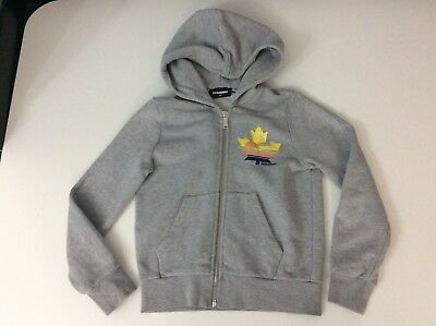 Dsquared2 Boys Hoodie, Size Age 8 Years, Grey, Jumper, GC