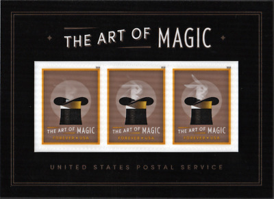Art of Magic Souvenir Sheet USPS 2018 New Mint NH Scott #5306a Great Gift