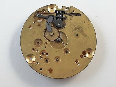 Omega Pocket Watch 19 Lbt1 Movement For Parts