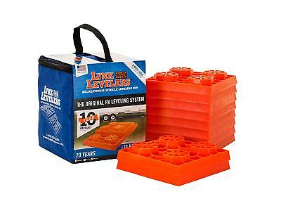 Tri-Lynx 00015 Lynx Leveler for RV Leveling Block with Nylon Storage Case, (Pack