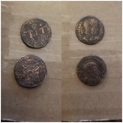 lot of two  ANCIENT ROMAN COIN