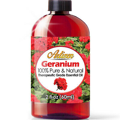 Artizen Geranium Essential Oil (100% PURE & NATURAL - UNDILUTED) - 2oz / 60ml