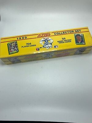 Score 1990 Baseball Sealed Collector Set #99160 704 Player Cards + Trivia Cards