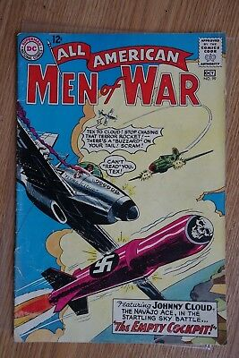 DC All American Men of War #99 (Sep-Oct, 1963) Silver Age Comic