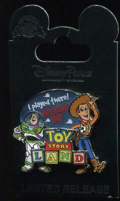 WDW Toy Story Land Opening Day I Played There Disney Pin 128615