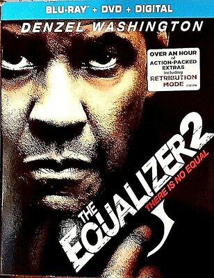 Equalizer 2: There Is No Equal (Blu-ray+DVD+Digital)