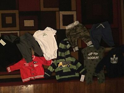 Lot of Baby Boy Clothes sizes 0-3 months