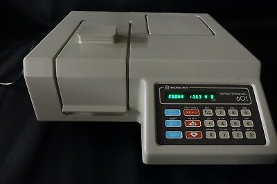 Milton Roy Spectronic 601 UV Spectrophotometer 195 - 999 nm - CLEAN and TESTED