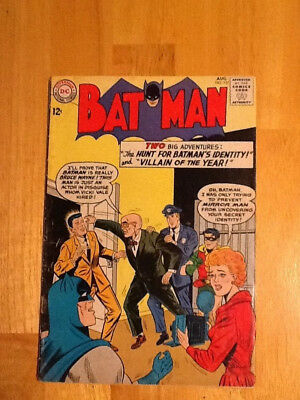 DC Batman Comic Book #157 Two Big Adventures The Hunt For Batman's Identity +