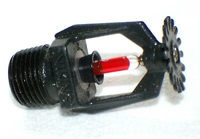 "Viking 155*F 1/2"" NPT Special Black Pendent Fire Sprinkler head, K=5.6"