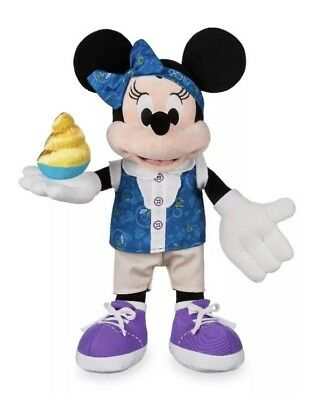 "NEW 2019 Minnie Mouse Plush 15"" Walt Disney World Theme Parks Souvenir"