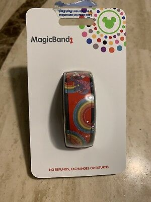 Disney Mickey Mouse & Figment YesterEars Magic Band MagicBand 2 Limited Release