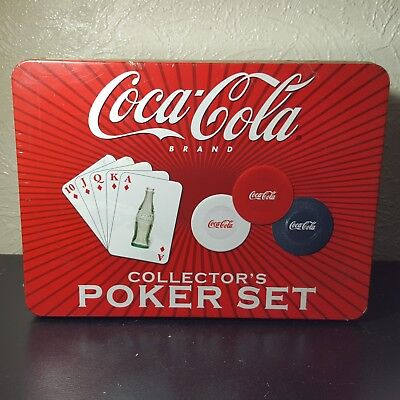 Coca-Cola Collector's Poker Set