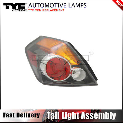 TYC NSF Certified Right Side Tail Light Lamp for Nissan Altima Sedan 2007-2009