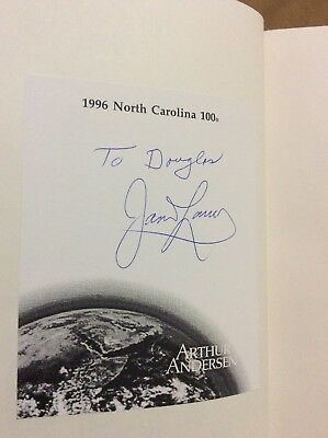 "James ""Jim"" Lovell Signed Book ""Lost Moon"" Astronaut"