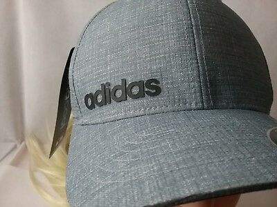187dda6cf6a ADIDAS CLIMACOOL CHINO Print Hat Golf Cap Flexfit Fitted AE6139 ...