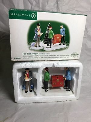 Department 56 - FINE ASIAN ANTIQUES #56.58462 Dickens Village Series - VG