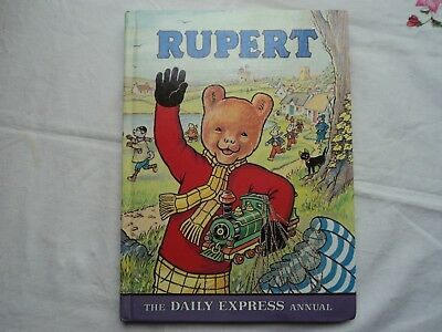 Rupert Daily Express Annual, Hardcover, 1976 - VGC