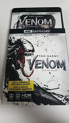 Venom 4K + Blu-ray + Digital