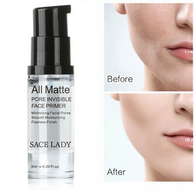 SACE LADY Invisible Pores Face Primer Ultra-smooth Matte Makeup Foundation K0Pc