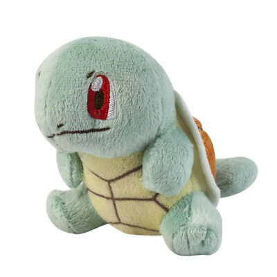 Pokemon Center Squirtle Plush Doll Figure Stuffed Animal Toy 4 inch Xmas Gift