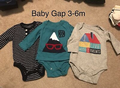 Baby Boy Clothing Lot 3-6 Months *So Many Cute Items! *