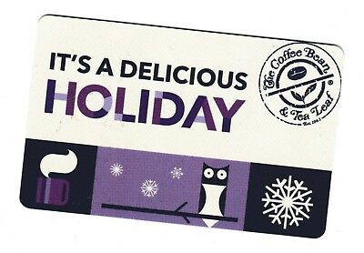 Coffee Bean & Tea Leaf no value collectible gift card mint #15 It's a Delicious