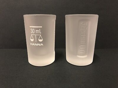 4 x Jagermeister 30ml Frosted Glass Shot Glasses Set BRAND NEW FREE POST