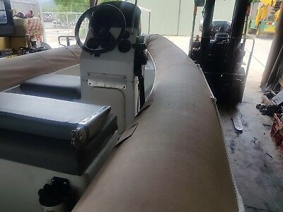 2007 RFD 5mtr Centre Console Rubber Inflatable Motor Boat with Trailer
