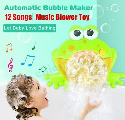 Kids Baby Shower Foam Bubbles Water Toy Music Bathtub Toy for