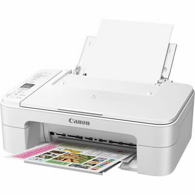 Canon PIXMA Color Wireless All-in-One Inkjet Printer, Scan Copy INK INCLUDED