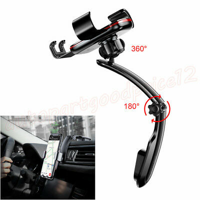1x Metal Gravity Connecting Rod Type Car Air Vent Mount GPS Phone Holder Bracket
