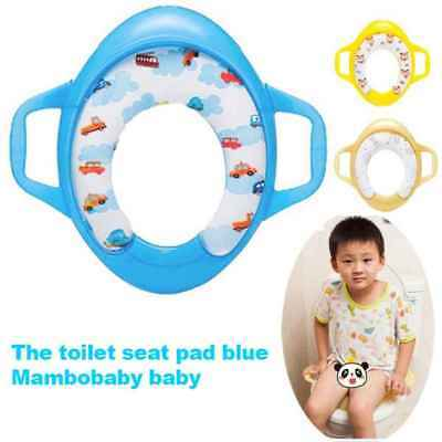 Bathroom Toddler Toilet Trainer Baby Potty Training Seat Toilet Chair Infant Sea
