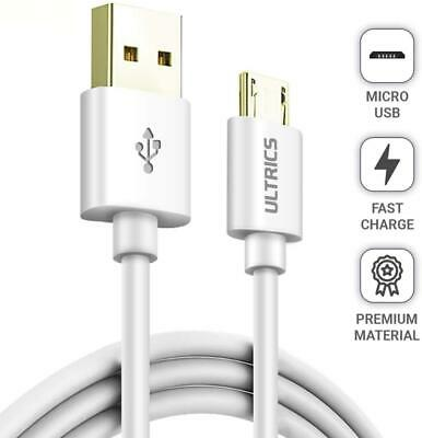 Micro USB Cable 30cm 1m 2m 3m Fast Data Sync Android Charger Lead Samsung LG