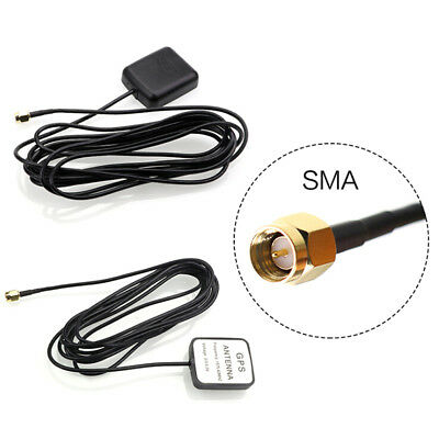 Car Gps Antenna Gps Active Remote Antenna Aerial Adapter Connector LS