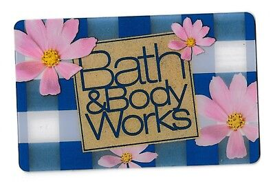 Bath & Body Works no value collectible gift card mint #01 Flowers