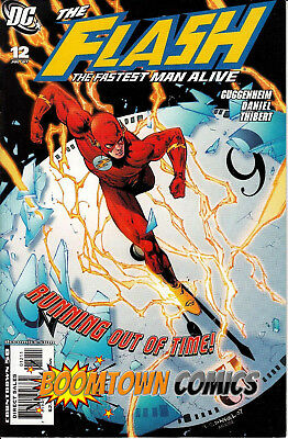 Flash The Fastest Man Alive #12 [07/2007] DC Comics - VF, Tony Daniel