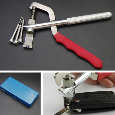 Universal Accessories Car Key Blade Pin Disassembling Plier Lock Tools With Box
