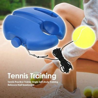 Tennis Trainers Athletic Youth Practice Training Tool Fill Drill Portable Skills