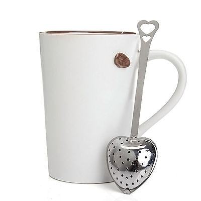 Stainless Steel Loose Tea Infuser Leaf Strainer Filter Diffuser Herbal Spic   PB