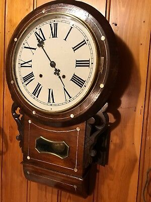 Antique Drop Dial Clock