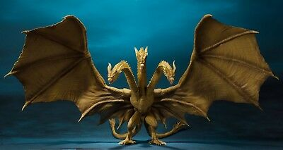 Godzilla: King of the Monsters 2019 S.H. Figure King Ghidorah - Preorder Agosto