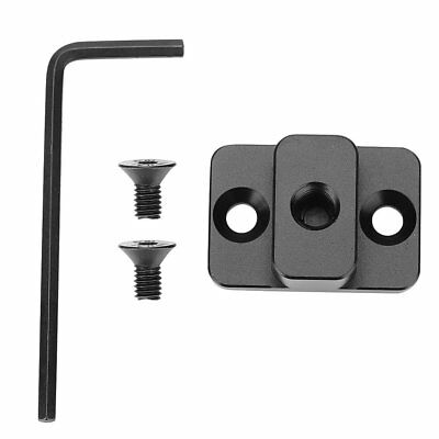 Video Monitor Extension Mount Adaptor Plate for DJI Ronin S Gimbal with 1/4Screw
