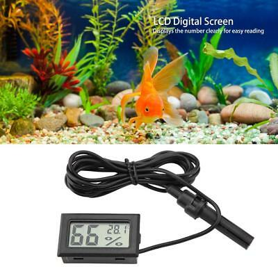 Digital LCD Thermometer Temperature Hygrometer Humidity With External Probe