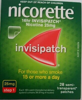 Nicorette Invispatch 16Hr Step 1  25Mg  28 Patches