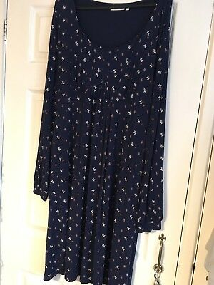 jojo maman bebe maternity nursing dress size L