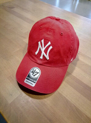 CAPPELLO NY 47 Brand Rgw Clean Up New York Yankees Red - EUR 25 28bdf0c29abd
